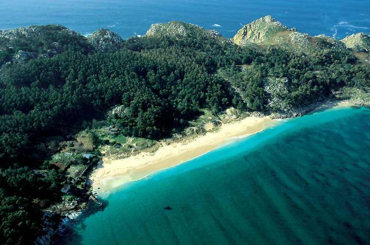 Playa de San Martino, Galicia