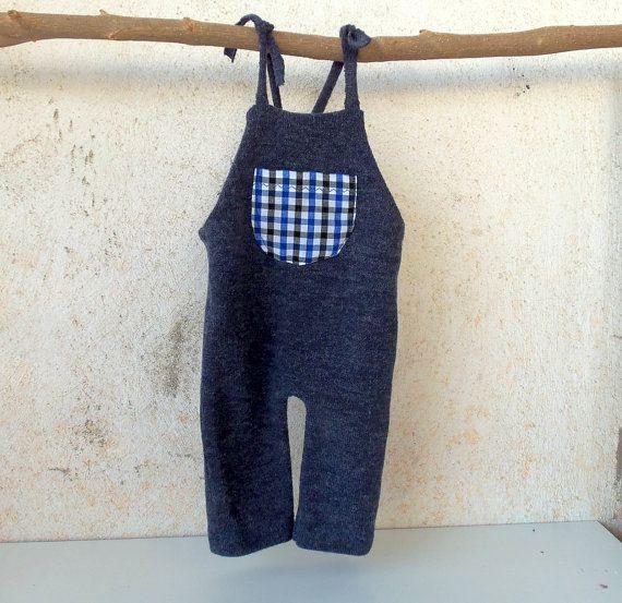 Newborn Photo Prop-Newborn Blue Overalls-Baby Boy by zoik on Etsy