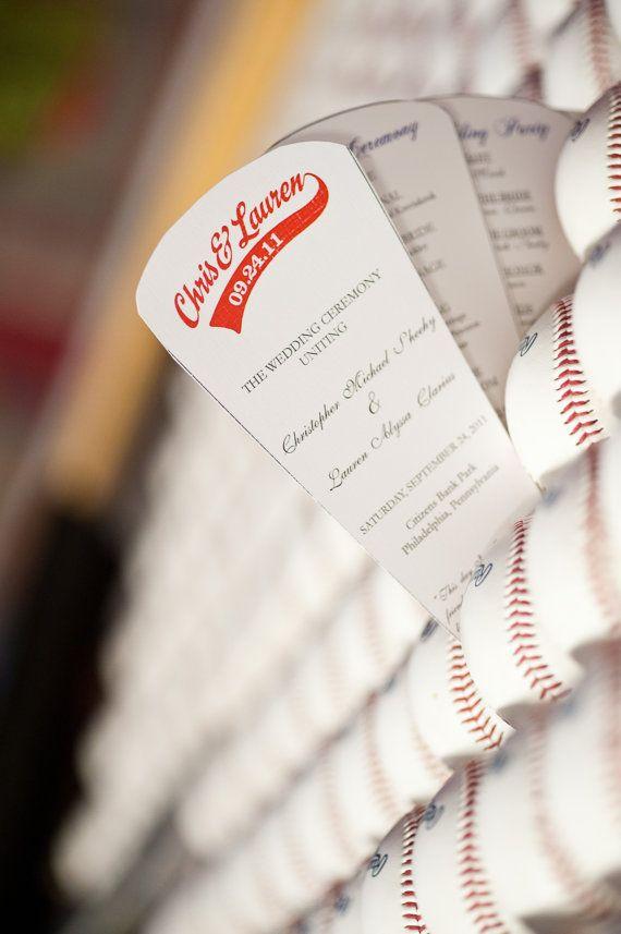 Best 25 fan wedding programs ideas on pinterest diy wedding fan wedding program getting married in a mlb baseball park would be amazing solutioingenieria Choice Image