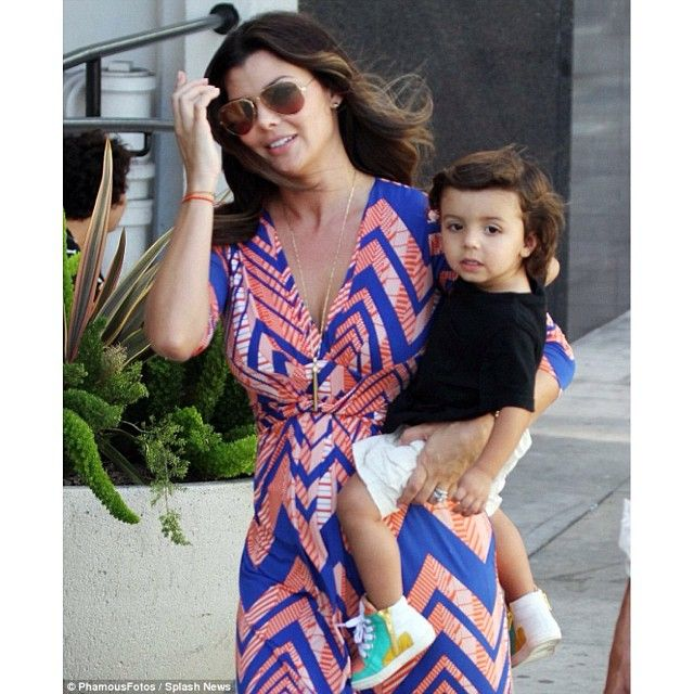 Ali Landry + Marcelo out and about in MAA sneakers!