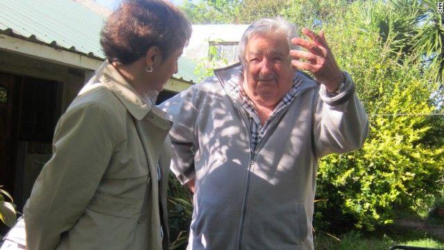 Entrevista con José Mujica, Uruguay