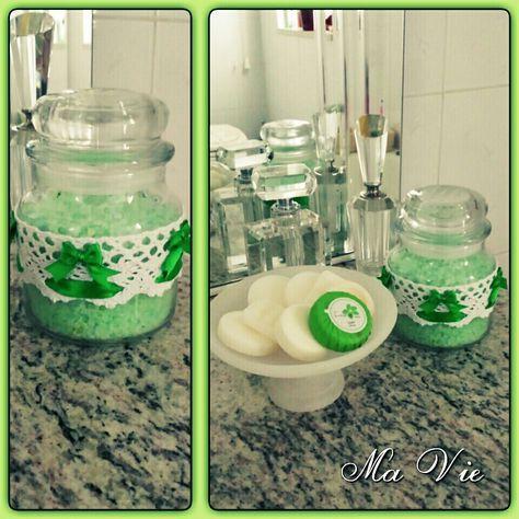DIY bath salt - Sali da bagno fai da te (by Ma Vie Creations & Events)