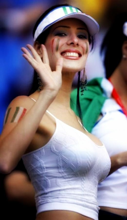 Italian Girl (Forza Italia) Football | ITALIA | Pinterest ...