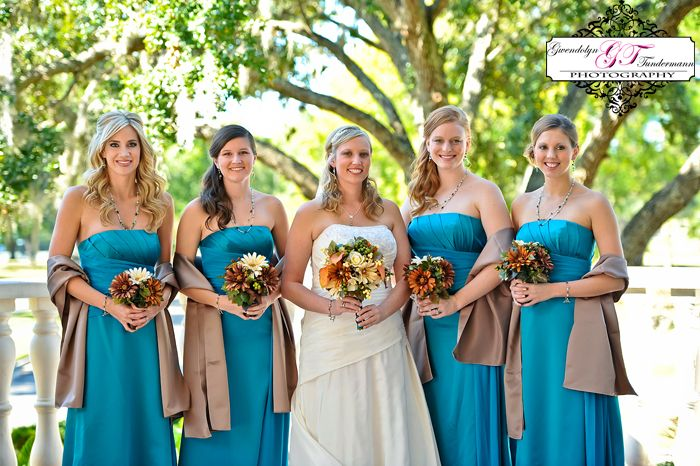Teal/oasis bridesmaid dresses  Bridesmaid Dresses  Pinterest ...