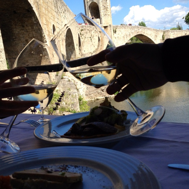 #life #eating michelin restaurante besalu