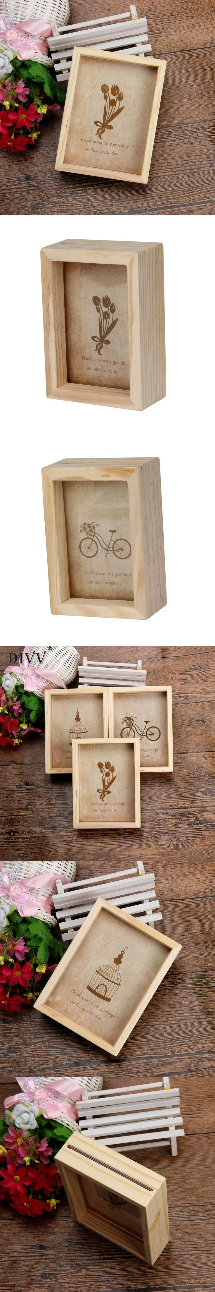 Zero New Home Decor Wooden Picture Frame Destop style Photo Frame Oct13