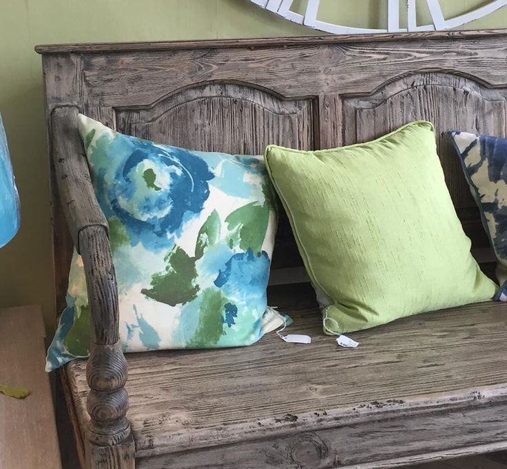 Beautiful cushions! Some handmade in our Studio upstairs! Many different fabrics available to choose from.
