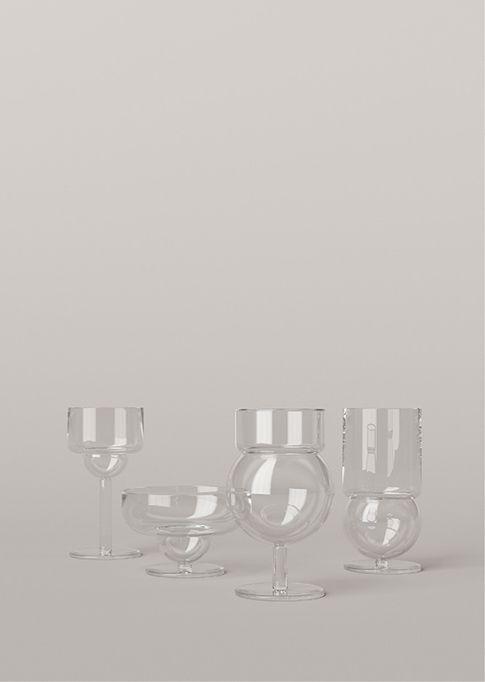 Karakter Copenhagen - Sferico Glass Collection, Joe Colombo