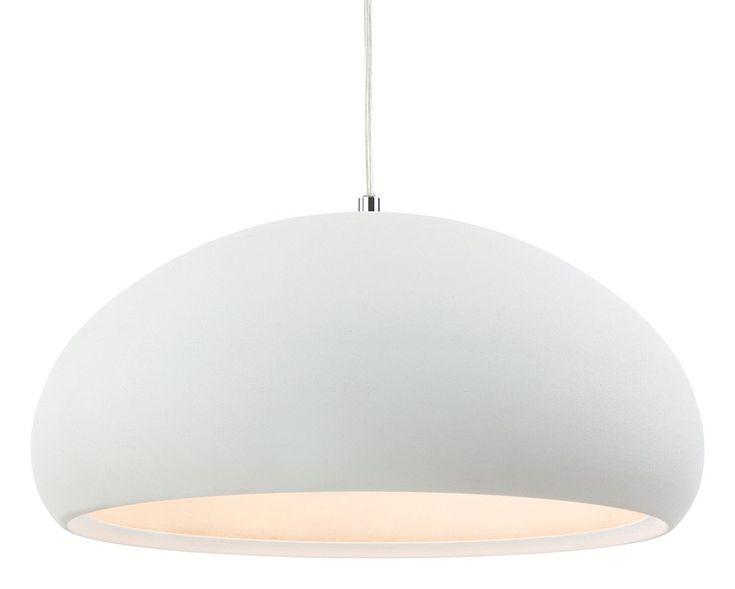 Dax 1 Light Dome Pendant Ceiling Pendant White Ceiling Ceiling Lights