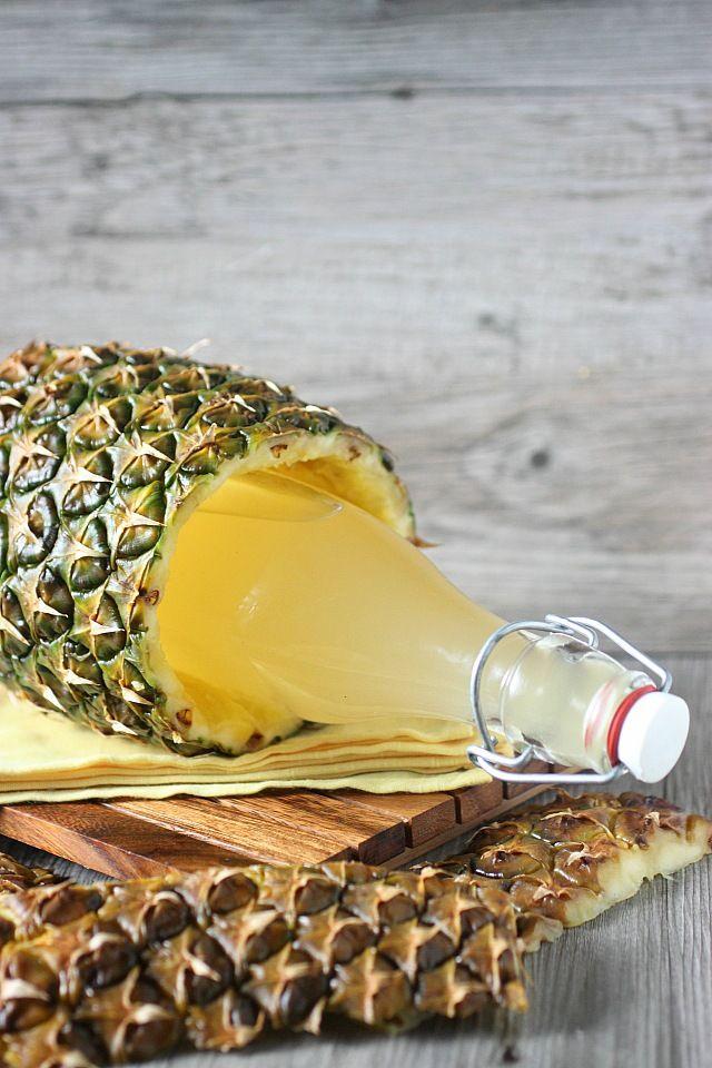 Pineapple Infused Vodka {mind-over-batter.com}