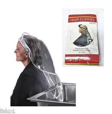 BETTY DAIN #815 Vinyl Hair Shampoo Funnel, for seniors and the handicapped