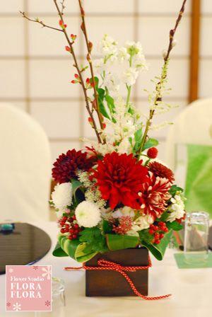 FLORAFLORA*precious flowers*ウェディングブーケ会場装花&フラワースクール*の画像