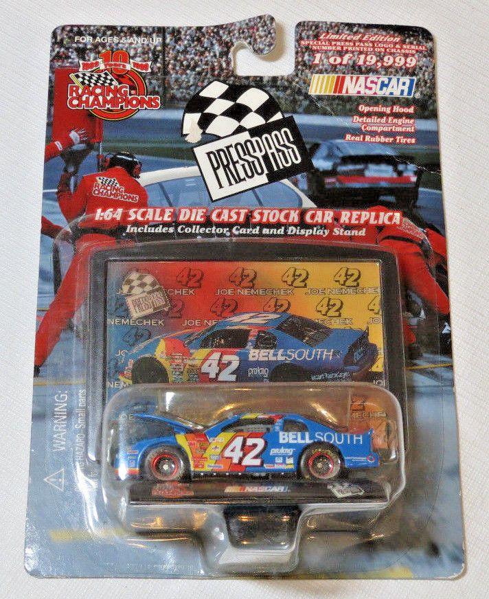Nascar #42 Joe Nemechek Racing Champions Limited Edition 1:64 Scale Diecast #RacingChampions #42