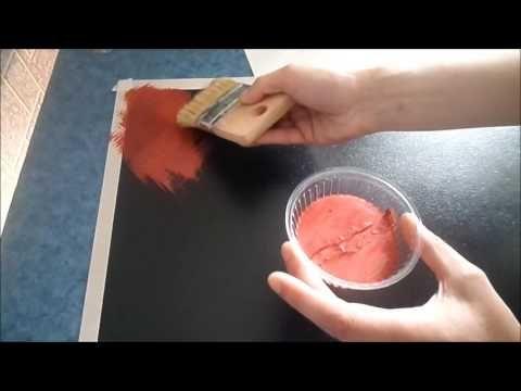 (283) Античный эффект кракелюр - YouTube