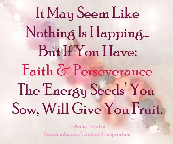 Persistence Motivational Quotes: Quotes Of Perseverance And Faith. QuotesGram