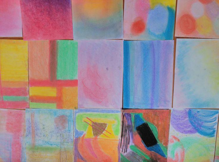 Pruebas de color en el Curso de Estilismo en Decoración #esmadeco #estilismo #color #decoración