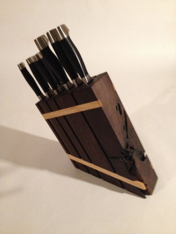 17 Best Ideas About Knife Block On Pinterest Hand Router