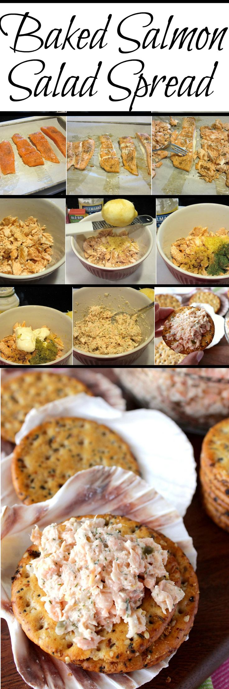 Baked Salmon Salad Spread is so versatile you can use it as an ...