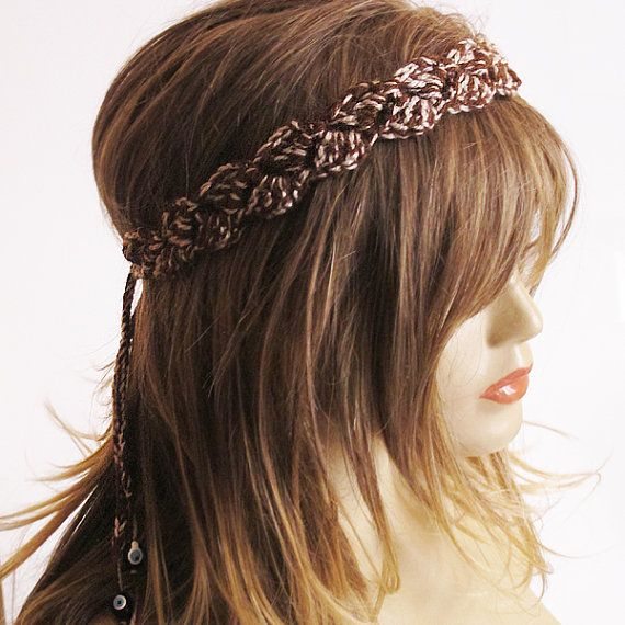 crochet headband hair accessories hairband boho by selenayselenay
