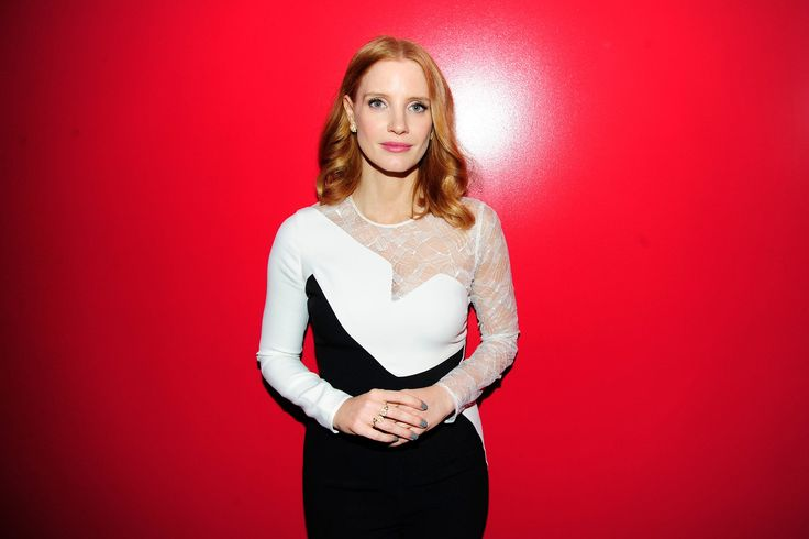 Jessica Chastain Talks Holiday Party Style and Pajama Dressing
