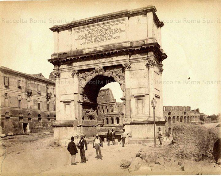 Arco di Tito Anno: 1865 ca.