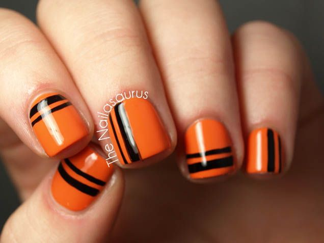 Best 25+ Orange nail art ideas on Pinterest | Orange nail, Spring nails and  Xmas nails - Best 25+ Orange Nail Art Ideas On Pinterest Orange Nail, Spring