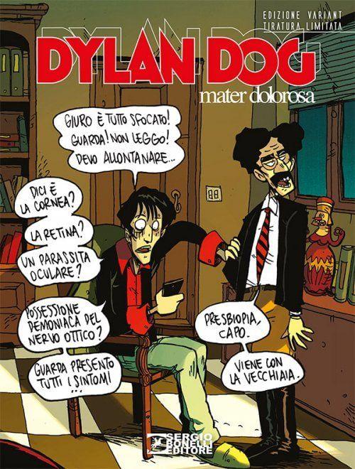 Dylan Dog, i 30 anni si celebrano con 'Mater Dolorosa', la copertina è di Zerocalcare