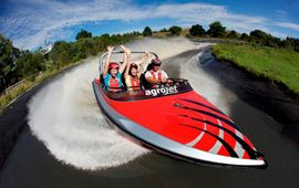 Agrojet - New Zealand's Fastest Jet Boat   Agroventures - Rotorua Attractions