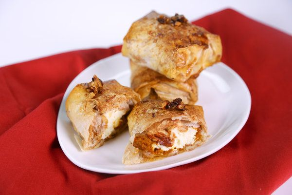 "the chew | Recipe | Carla Hall's ""It's The Great Pumpkin (Strudel) Charlie Brown"""