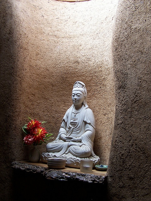 Quan Yin at Green Gulch