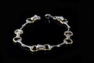 Snaffle Bit Bracelet - County Equestrian Jewellers