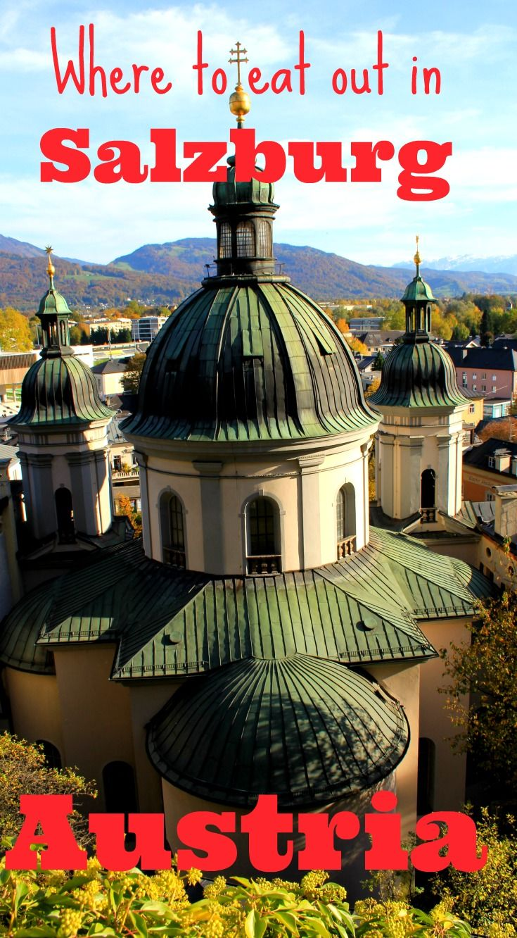 My top places to eat in Salzburg, Austria, for breakfast, brunch, lunch, dinner and beyond (in other words there are some recommendations for where to have a drink in Salzburg as well). These are tips from a local and personally tested! Where to eat out in Salzburg.