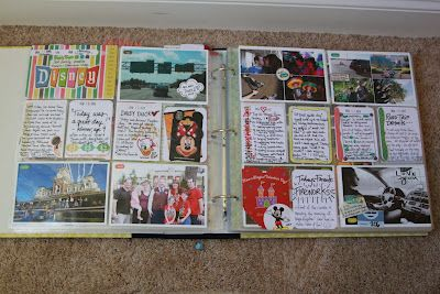Disney pages in Project Life - one spread for each person in the family. Kelly gave everyone cameras to take pics during the week + journaling cards. Each spread is wonderful.: Disney Scrapping, Journaling Scrapbooking Ideas, Disney Project Life, Disney Style, Disney Crafts, Disney Ideas, Craft Projects, Life Ideas