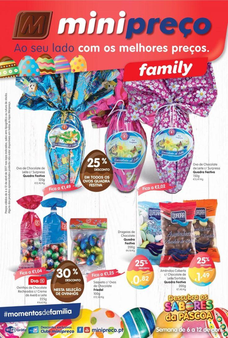 Folheto Minipreço Family promoções a partir de 06 Abril. #Minipreço #Páscoa