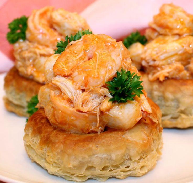 Seafood Newburg: Shrimp, Scallops & Crabmeat