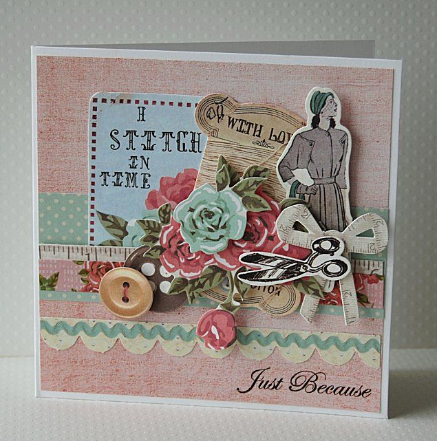 Just because - needle and thread