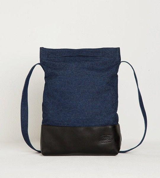 Джинсовая сумка шоппер Daily (синяя)