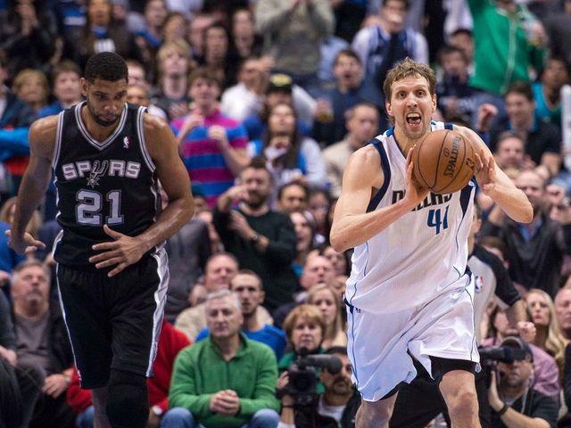 NBA playoffs Spurs vs. Mavericks 4/20/14 game one