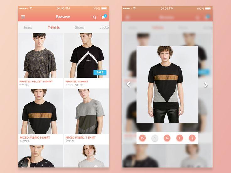 Shopping Peek - 3D Touch