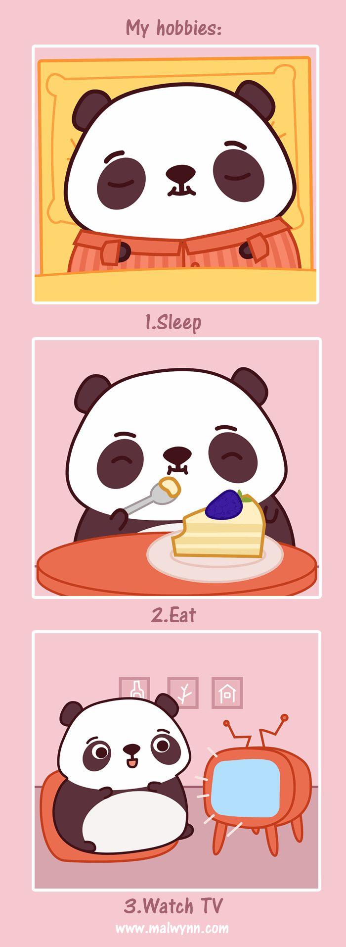 Malwynn - Comics of the Panda Life