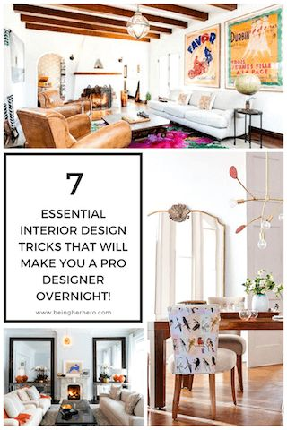 7 essential interior design tricks that will make you a pro designer overnight being - Eclectic Interior Design Blogs