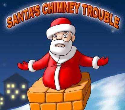 Santas Chimney Trouble game. Santa is about to enter through the chimney and bring presents to the kids, but there's one problem: No one actually uses the fireplace and it is not connected to the chimney. Santa is about to enter through the chimney and bring presents to the kids, but there's one problem: No one actually uses the fireplace and it is not connected to the chimney.