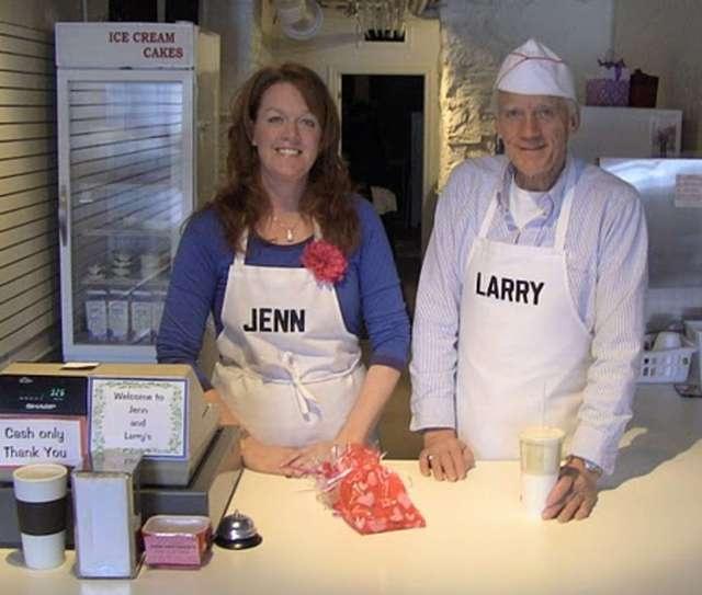 Jenn & Larry's in downtown Stratford, Ontario :)