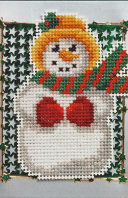 Christmas Charts and full instructions available in Jill Oxton's Cross Stitch and Bead Weaving. These charts have full instructions for beading and cross stitch. Available from Australian Needle Arts. http://www.australianneedlearts.com.au/beaded-christmas-patterns-jill-oxton