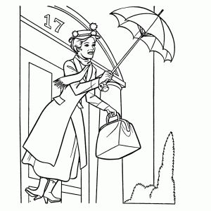25 best mary poppins images on Pinterest | Mary poppins, Coloring ...