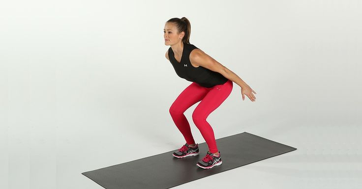 Catch Some Air: Jump Squats Will Lift Your Butt