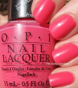 OPI Strawberry Margarita....so fun!