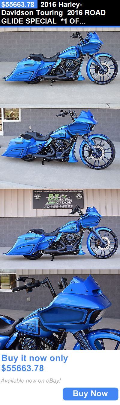 Motorcycles: 2016 Harley-Davidson Touring 2016 Road Glide Special *1 Of A Kind* 26 Wheel! Over $40K In Xtras!! Wow!! BUY IT NOW ONLY: $55663.78