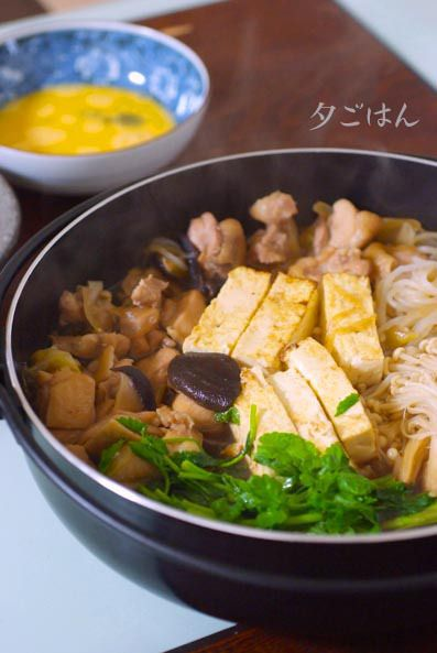 焼き豆腐もカンタンに作っちゃえ♪鶏すき焼き by P子さん | レシピ ...