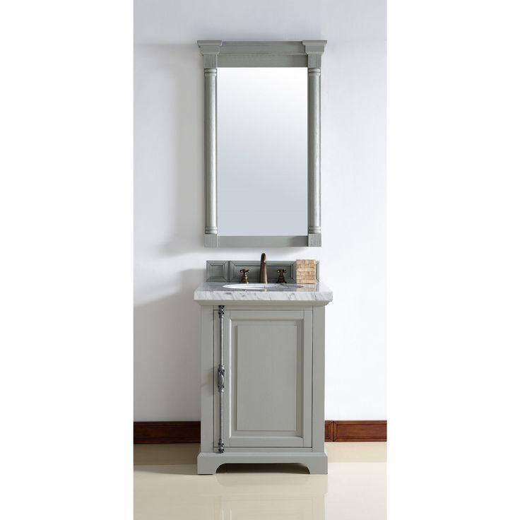 Gallery One James Martin Furniture Providence Urban Grey Oak Wood Veneer inch Single Vanity Cabinet